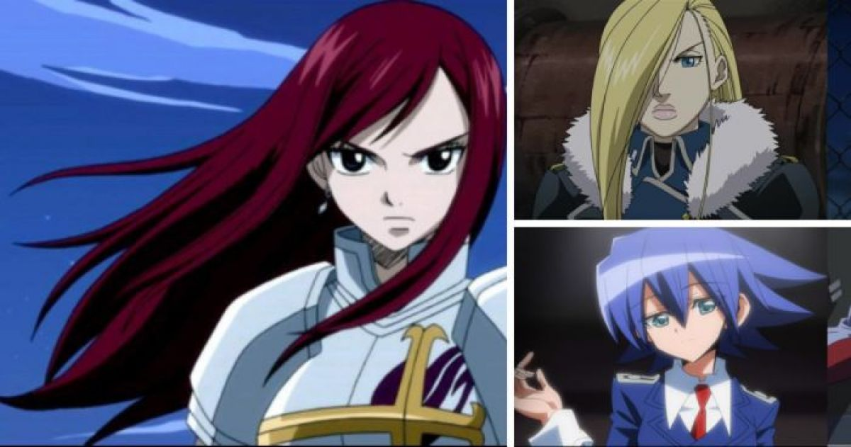 14 Hairstyles You Always See on Anime Girls