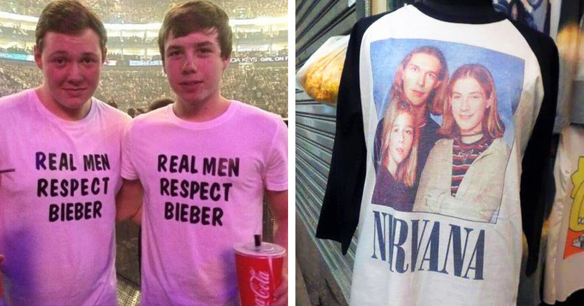 Extremely Embarrassing T-Shirt Fails That Will Make You Laugh and Cringe